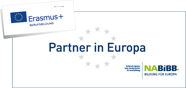 Erasmus plus Partnerlabel / © na-bibb